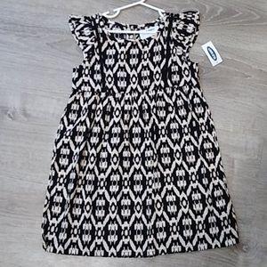 Nwt Old Navy tribal print ruffle summer dress